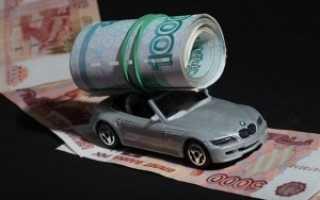 Транспортный налог на машину в угоне
