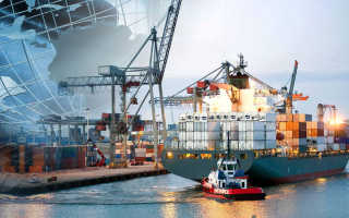 Перевозки контейнеров морским транспортом