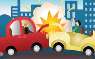 Авария без водительского удостоверения