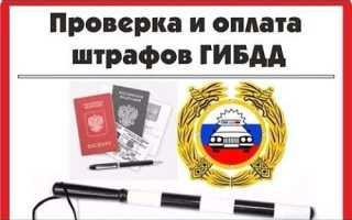 Проверка штрафов ГИБДД по водительскому удостоверению онлайн