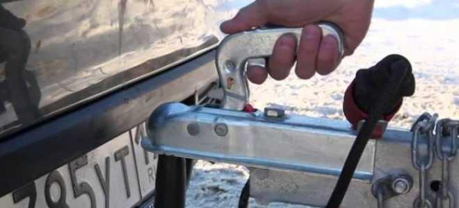 Как уберечь прицеп автомобиля от угона