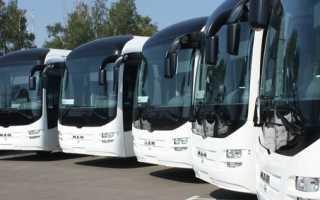 Междугородние перевозки пассажиров автомобильным транспортом