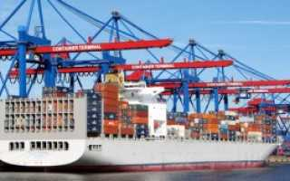 Грузоперевозки опасных материалов на морском транспорте