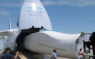 Перевозка негабаритных грузов воздушным транспортом