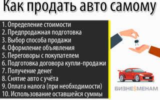 Как продается автомобиль по новым правилам