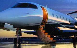 Частные перевозки воздушным транспортом